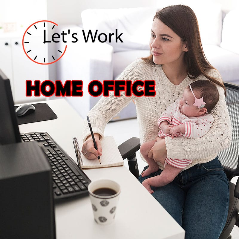 Let's-work-home-office